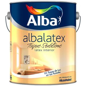 Latex Interior Albalatex Toque Sublime Naranjas 8.7 Lts