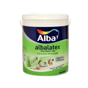 Latex Interior Albalatex Mate Azules 17.4 Lts