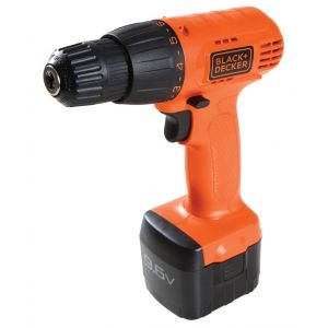 Taladro Inalámbrico 9.6v 10 Mm 550 Rpm Black Decker Cd961