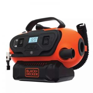 Inflador Multiproposito  Black Decker 12v 220v Digital 20v B