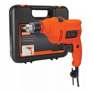 Taladro Percutor 10 mm 550w Black & Decker Tp555k