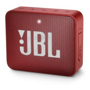 Parlante JBL Go 2 Portatil Con Bluetooth Ruby Red