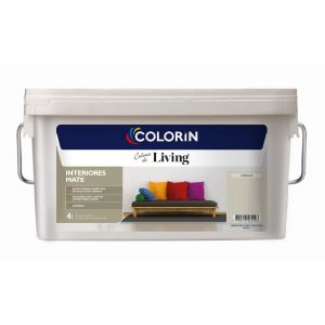 Látex Interior Living Mate Cebada 4 Lts Colorin