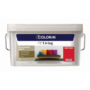 Látex Interior Living Mate Ceibo 4 Lts Colorin