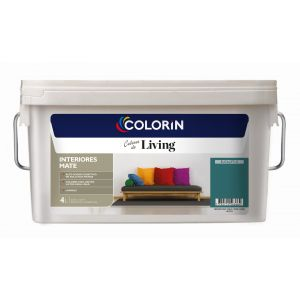 Látex Interior Living Mate Eucaliptus 4 Lts Colorin