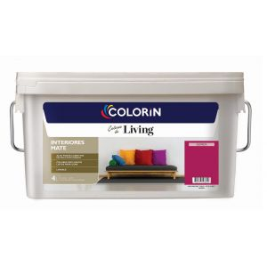 Látex Interior Living Mate Guinda 4 Lts Colorin
