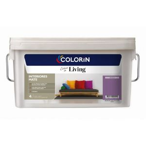 Látex Interior Living Mate Sauco 4 Lts Colorin
