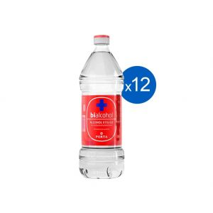 Alcohol Etilico Bialcohol Porta 70% 500ml Pack x 12