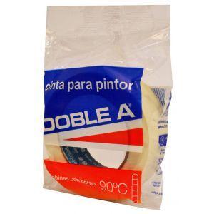 Cinta de Papel Enmascarar 48 mm x 50 mts Doble A