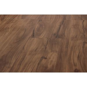 Piso Vinilico Click Lvt Spc 4 mm Aqua Step Class Marrón