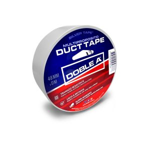 Cinta Duct Tape 48 mm x 9 mts Blanca Multipropósito Doble A