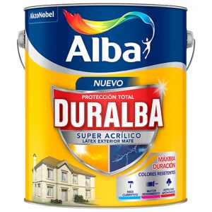 Latex Exterior Duralba Mate Neutros 17.4 Lts