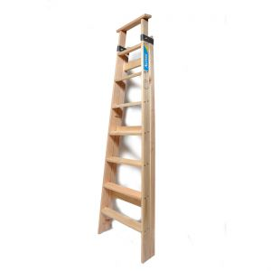 Escalera Tipo Familiar De Madera 11Escalones Alpina