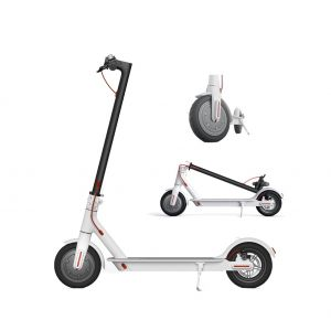 Monopatin Electrico Xiaomi M365 Scooter Blanco Plegable