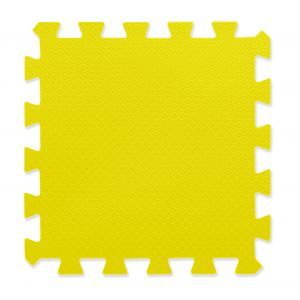 Piso Goma Eva Encastrable 50x50 cm 15mm Amarillo