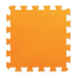 Piso Goma Eva Encastrable 50x50 10mm Naranja