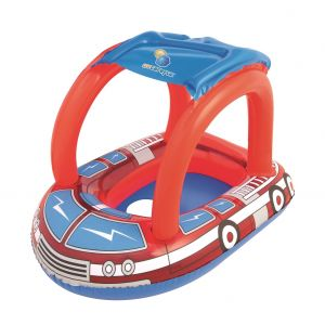 Flotador Inflable Asiento Camion Bomberos Bestway