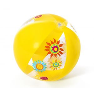 Pelota  Inflable Amarillo Mediana Fashion Bestway