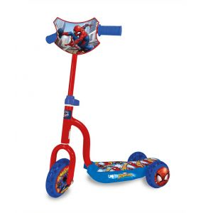 Scooter Monopatin Infantil 3 ruedas Spiderman Kuma Kids