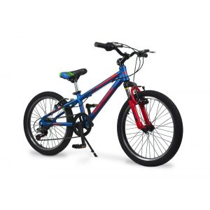 Bicicleta Mountain Bike Kawasaki Rod 20 Kht 220 Celeste