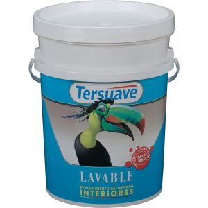 Latex Interior Lavable Mate Blanco 20 Lts Tersuave