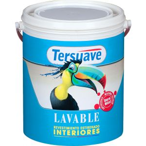 Latex Interior Lavable Mate Blanco 10 Lts Tersuave