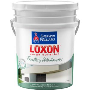 Impermeabilizante Frentes Loxon Blanco 20 Lts Sherwin Williams