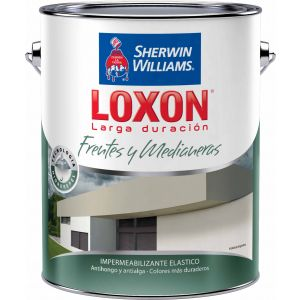 Impermeabilizante Frentes Loxon Tostado 4 Lts Sherwin Williams
