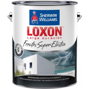Impermeabilizante Frentes Loxon Super Elastico 4 Lts Sherwin Williams