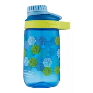 Botella Agua Infantil Rubbermaid Kids Plastica 414ml Azul