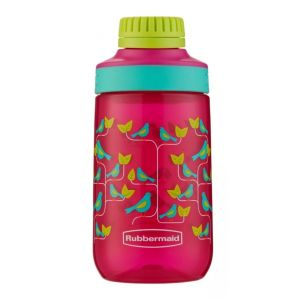 Botella Agua Infantil Rubbermaid Kids Plastica 414ml Rosa