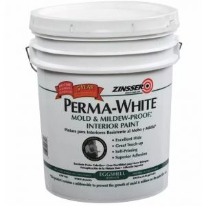 Pintura Latex Interior Perma White Satinado 18lt Zinsser