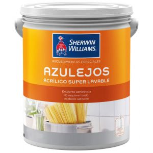 Pintura Para Azulejos Satinado Blanco 0.9 L Sherwin Williams
