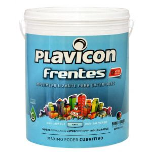 Plavicon Frentes Pintura Latex Impermeabilizante 25 Kg