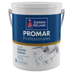Latex Interior Exterior Profesional Promar Blanco Mate 20 Lts Sherwin Williams