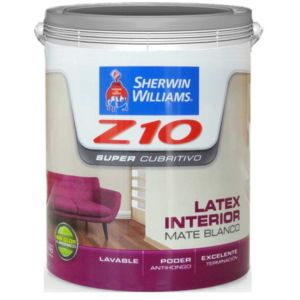 Latex Interior Z10 Supercubritivo 20 Lts Sherwin Williams