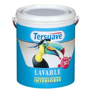 Pintura Latex Interior Tersuave Lavable 20 Lt