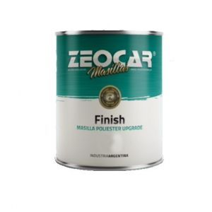 Masilla Plastica Finish 2,5 kg Zeocar Con Endurecedor