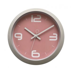 Reloj De Pared Retro Vintage Rosa